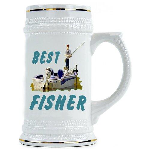Пивная кружка Best Fisher