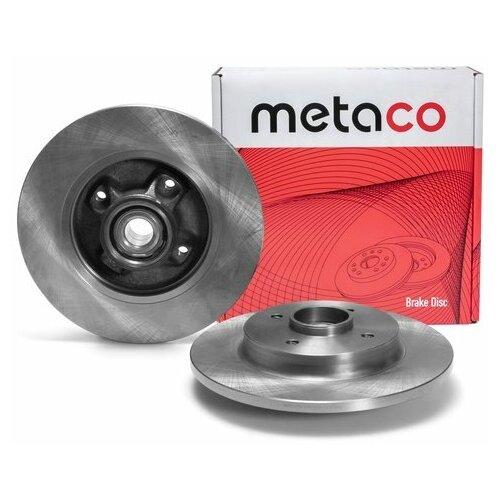 Диск тормозной задний (Производитель: METACO 3060256)