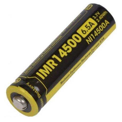 Фото - Аккумулятор 14500 - Nitecore IMR14500 Li-Ion 650mAh 13218 аккумулятор nitecore nl1665r