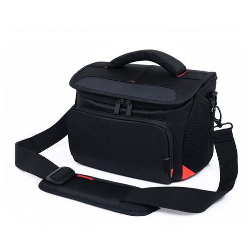 Фото - Чехол-сумка MyPads TC-1130 для фотоаппарата Canon EOS 60D/ 500D/ 550D/ 600D/ 650D/ 2000D/ 3000D/ 4000D из качественной износостойкой влагозащитной ткани черный аккумулятор fb lp e8 для canon eos 650d 600d 550d 700d