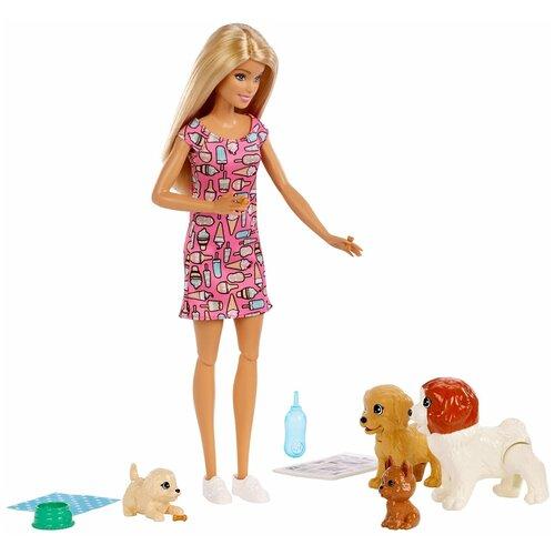 Barbie Mattel Кукла Барби - Собачий детский сад (Mattel Barbie Doggy Daycare Doll & Pets)