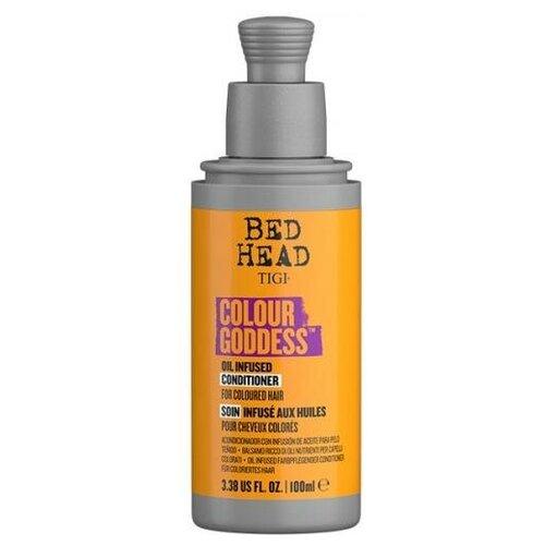 Кондиционер TIGI Bed Head Colour Goddess для окрашенных волос, 100 мл tigi bed head cтайлинговый крем для укладки бороды и волос tigi bh 100 мл