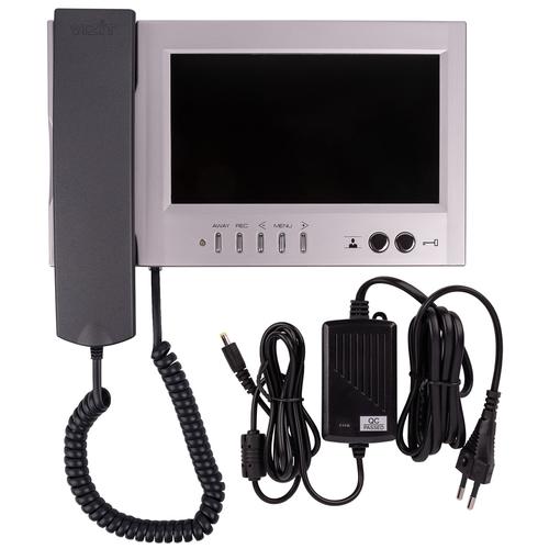 Комплект видеодомофона VIZIT-M468 с блоком вызова совместно с блоком питания