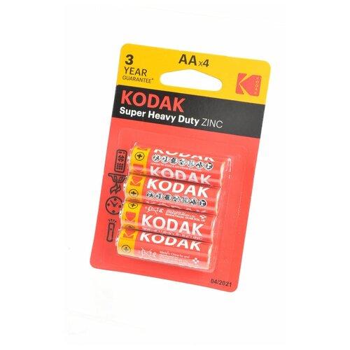 Kodak Батарейка Kodak Super Heavy Duty R6 BL4, 4шт