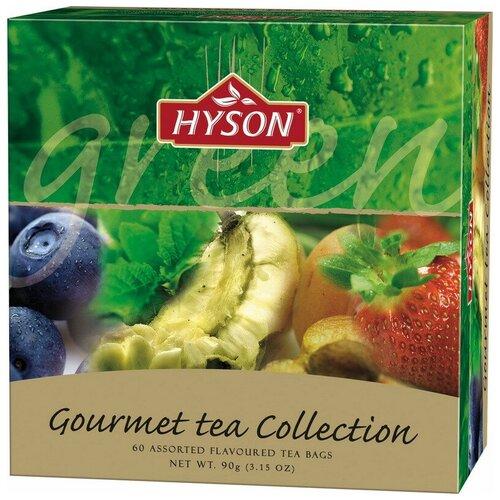 Чай HYSON зел. Gurmet Tea Collection 60 пак x 1.5гр/уп