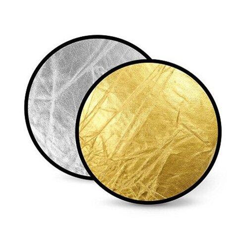 Фото - Отражатель FST RD-021GS 80 см, 2 в 1, золото / серебро отражатель fst rd 021ws 100х150 см 2 в 1 белый серебро