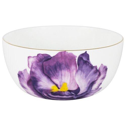 Фото - Салатник Iris 14 см 750 мл в подарочной упаковке, костяной фарфор, Anna Lafarg Emily, AL-506IR-E11 салатник anna lafarg emily magnolia 14 см 750 мл