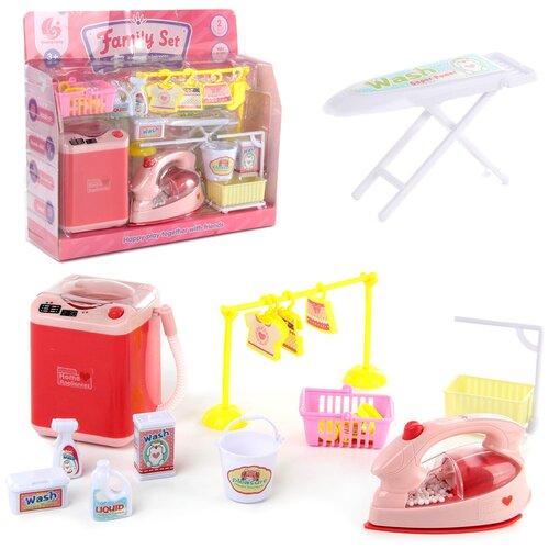 Купить Набор для стирки с утюгом Veld co 103869 блистер, Детские кухни и бытовая техника