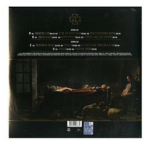 rammstein rammstein reise reise 2 lp 180 gr Виниловая пластинка Rammstein. Liebe Ist Fur Alle Da (2 LP)