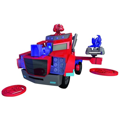 dickie toys машинка трансформер боевой трейлер optimus prime Боевой грузовик Dickie Transformers Optimus Prime 3116003