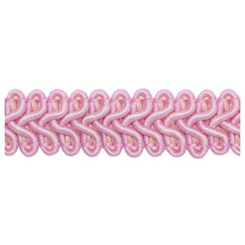Тесьма отделочная 'Шанель' 13мм*25м (SR024 розовый)