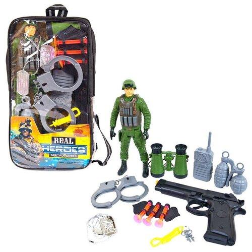 Набор игровой Junfa военный в рюкзачке