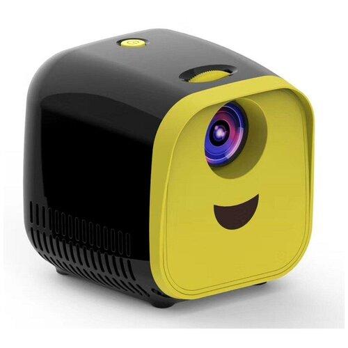 Фото - Проектор / Детский мини проектор / Проектор мультимедийный / Кубик Unic L1 / Желтый проектор unic t8