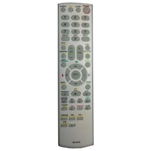 Фото - Пульт WC-G1R TV+DVD+VHS для Toshiba пульт ду panasonic eur 7722x20 universal dvd vhs system