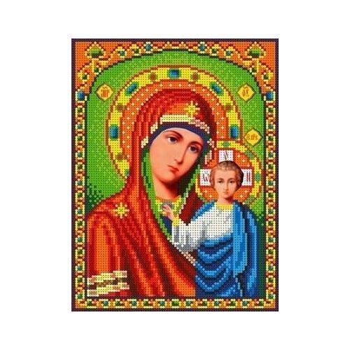 Богородица Казанская Рисунок на ткани 18х24,5 Каролинка ткби 4023/2 18х24,5 Каролинка ткби 4023/2)