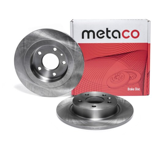 Диск тормозной задний Metaco 3060-072