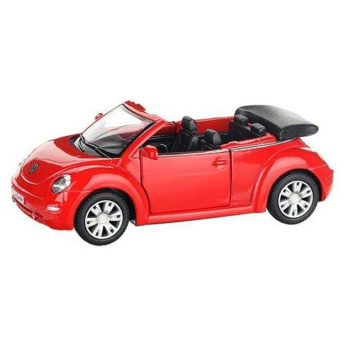 Купить Модель машины Kinsmart Volkswagen New Beetle Convertible 2003 года, инерционная, 1/32 KT5073W, Машинки и техника
