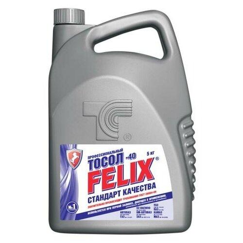 тосол felix euro 5 л Тосол Felix стандарт 5 кг