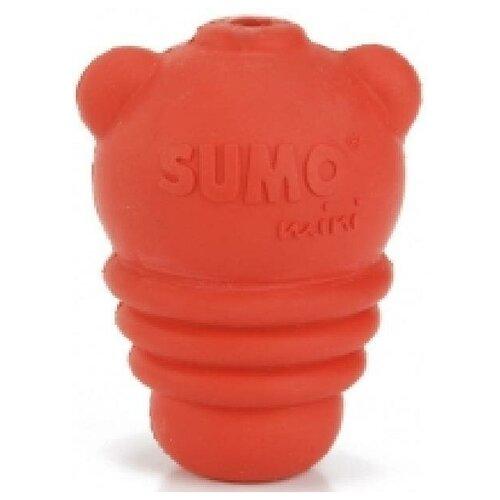 Beeztees 626640 Игрушка для собак Sumo Mini Play красная 4,5*4,5*6см (2 шт)