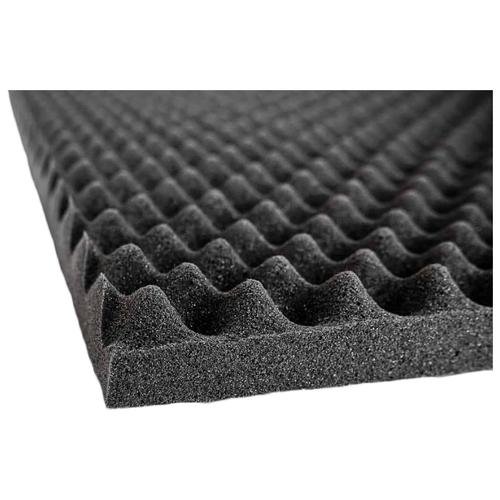 Шумопоглощающий материал Шумофф Герметон А30   1 лист - 75 x 100см   Водостойкий клеевой слой
