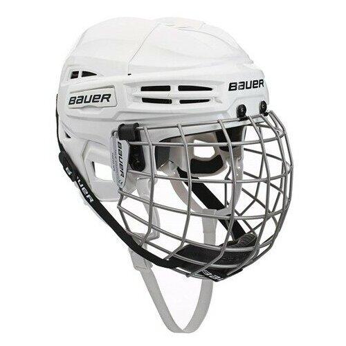 Шлем хоккейный BAUER IMS 5.0 COMBO L белый