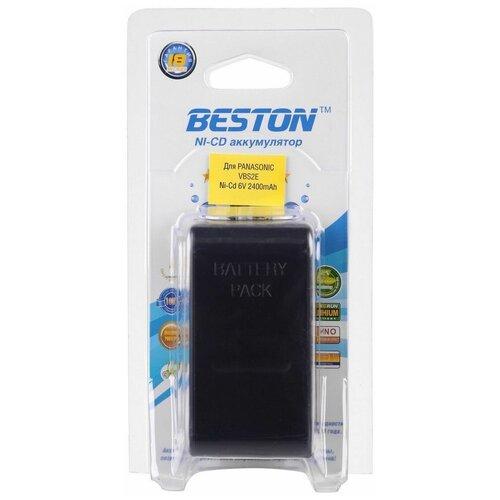 Аккумулятор для видеокамер BESTON Panasonic BST-VBS2E, NI-CD, 6 В, 2400mah