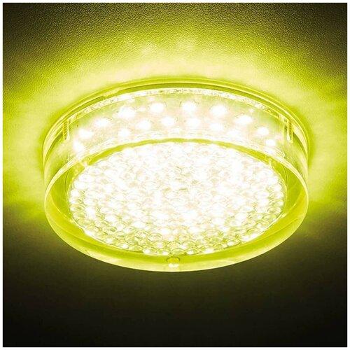 Ambrella light Встраиваемый светодиодный светильник Ambrella light Led S140 GD 5W 4200K Led