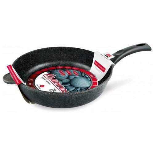 Сковорода нева металл посуда 18128 Литая, 28 см.