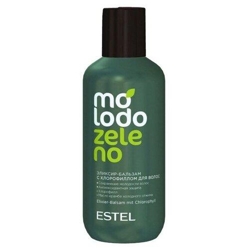Купить ESTEL Estel, Molodo Zeleno - эликсир-бальзам для волос с хлорофиллом, 200 мл