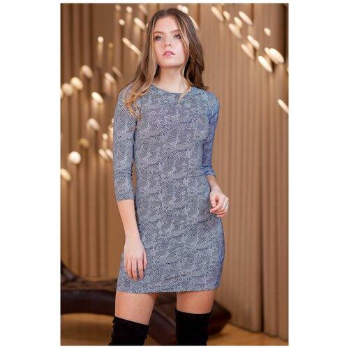 брюки ruxara ruxara mp002xw0f72l Короткое платье с длинным рукавом RUXARA (8090, синий, размер: 42)