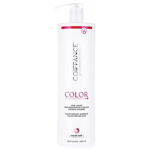 Coiffance Color-Protect Shampoo - Шампунь для защиты цвета окрашенных волос (без сульфатов) 1000 мл недорого