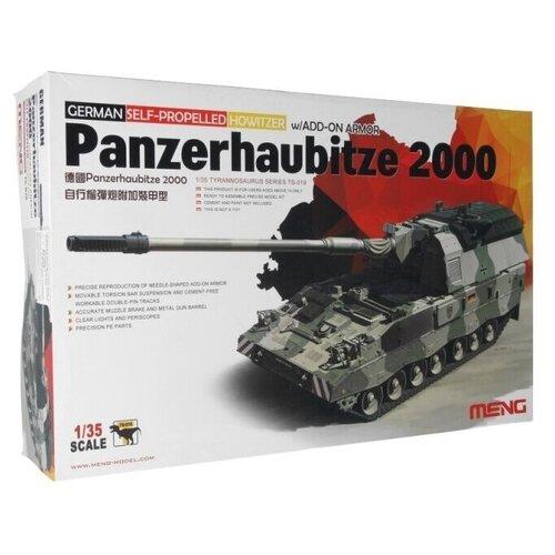 realts voyager models 1 35 modern russian t 90 dozer basic detail set for meng ts 014 Сборная модель MENG - TS-019 самоходная гаубица PANZERHAUBITZE 2000 1/35