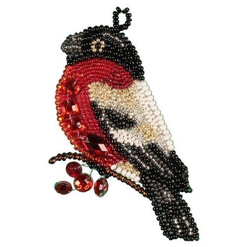 Купить Набор для вышивания NOVA STITCH Снегирь 8, 5х7 см, NOVA SLOBODA, Наборы для вышивания