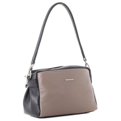 Сумка женская Fiato collection, 2788 вителло таупе /черный сумка fiato сумка