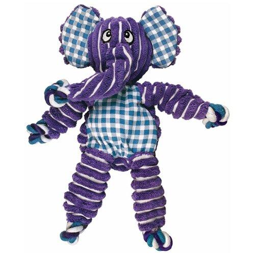 Игрушка для собак Kong Floppy Knots Слон большой, NKF11E, 36 х 19 см