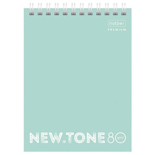 Купить Блокнот Hatber Premium Мята A6 80 листов 80Б6лA1гр_05039, Блокноты и записные книжки