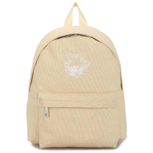 Текстильный рюкзак «Мяусон» 472 Beige