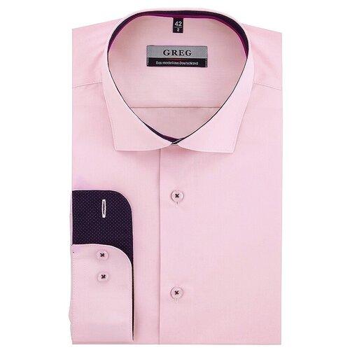 Рубашка GREG розовый