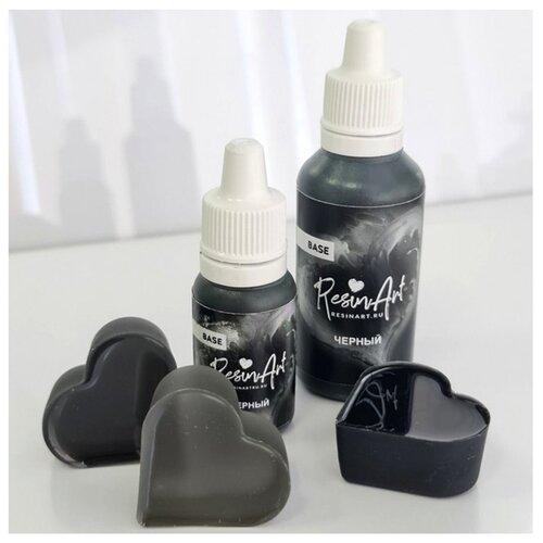 Купить Краситель для эпоксидной смолы ResinArt, черный, 10 мл, Вспомогательные жидкости