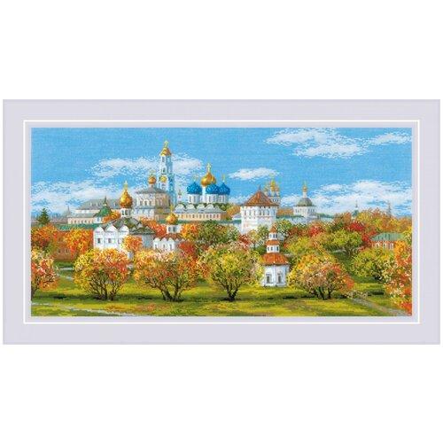 Риолис Набор для вышивания крестом Сергиев Посад 60 x 30 см (1812)