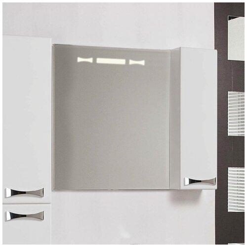 Зеркало-шкаф AQUATON Диор 80 белый