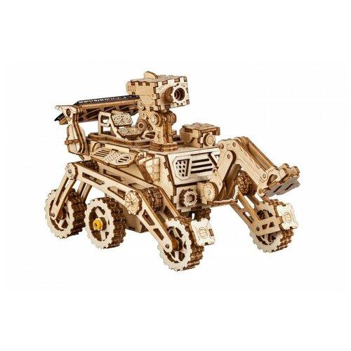Купить 3D деревянный конструктор Robotime Ровер Харбингер, Сборные модели