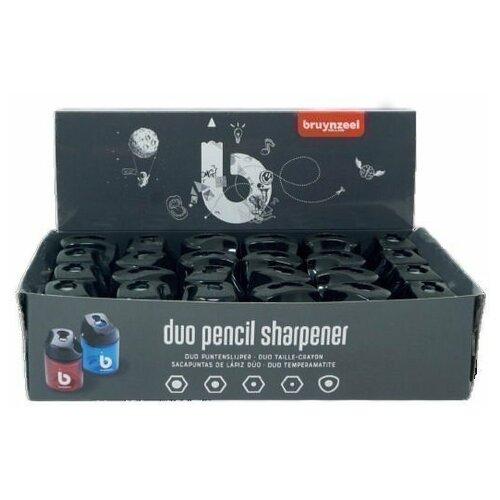 Купить Набор точилок Bruynzeel 24шт с картонным дисплеем 60282024, Точилки