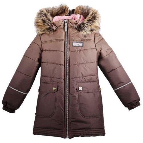 Купить Куртка KERRY размер 122, 8122 коричневый, Куртки и пуховики