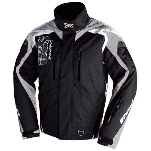 Текстильная куртка IXS Kobuk черный/серый XL (Размер производителя)