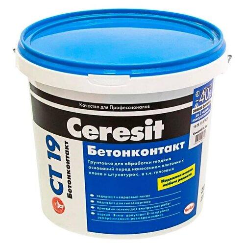 Грунтовка Ceresit CT 19 Бетонконтакт (зимняя формула) 15