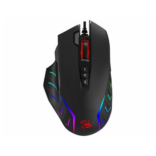 Компьютерная мышь A4Tech Bloody J95S Stone Black