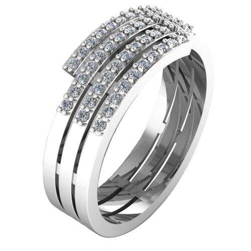 POKROVSKY Золотое кольцо 1100741-02732, размер 16