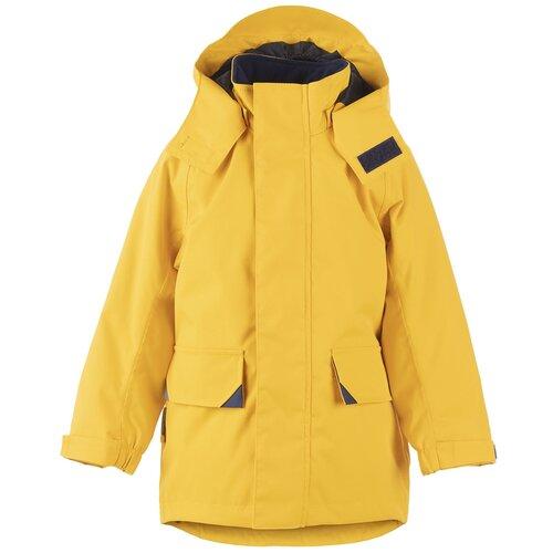 Купить Куртка для мальчиков SEAL K21024A-109, Kerry, Размер 104, Цвет 109-желтый, Куртки и пуховики