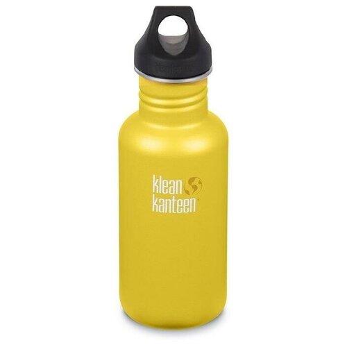 Бутылка Klean Kanteen Classic Loop 18oz (532мл) 1006181L Lemon Curry